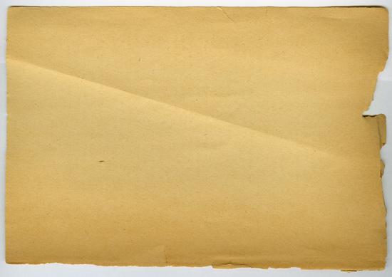 Warn, folded, and Yellowing
