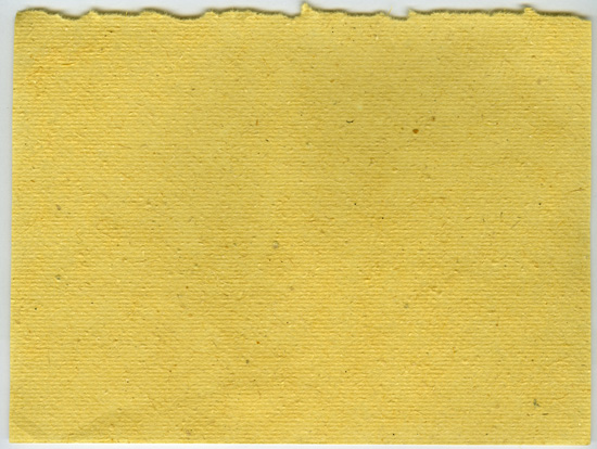 Yellow, Textured, and Ripped Out