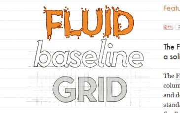 Fluid Baseline Grid System
