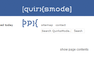 QuirksMode